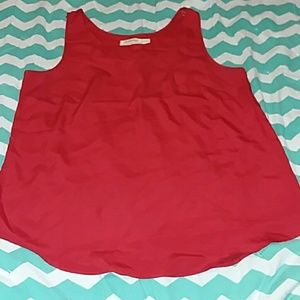 Tank top with front pocket